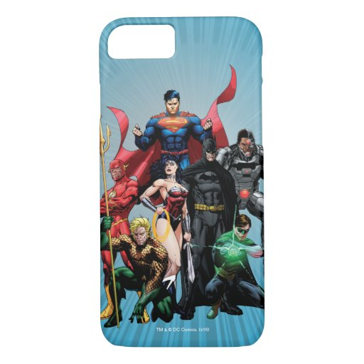 Justice League - Group 2 iPhone 8/7 Case