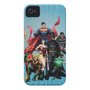 Justice League - Group 2 iPhone 4 Cover
