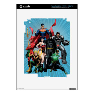 Justice League - Group 2 Decal For iPad 3