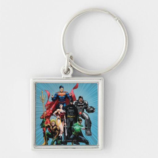 Justice League - Group 2 Keychain