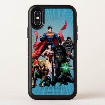Justice League - Group 2 OtterBox Symmetry iPhone X Case