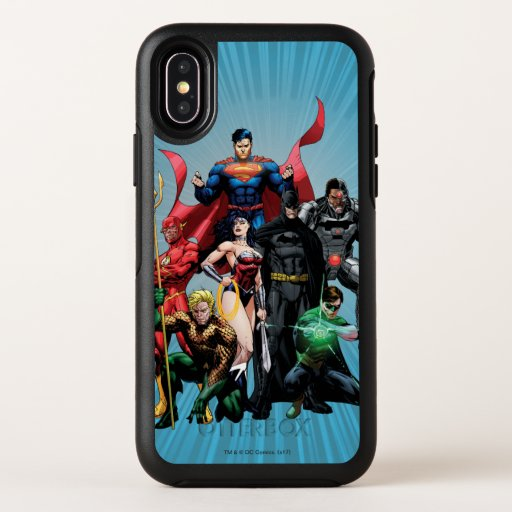 Justice League - Group 2 OtterBox Symmetry iPhone X Case