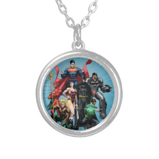 Justice League - Group 2 Silver Plated Necklace