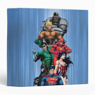 Justice League - Group 3 3 Ring Binder