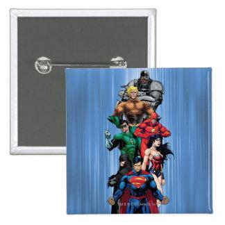 Justice League - Group 3 Button