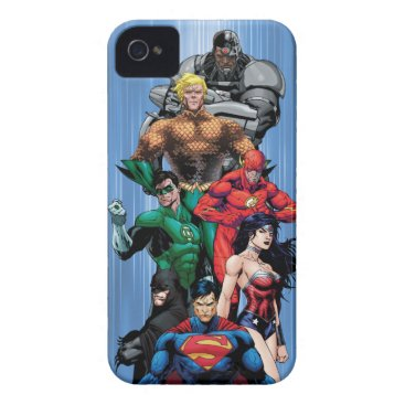 Justice League - Group 3 iPhone 4 Cover