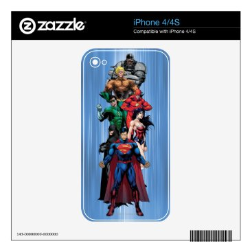 Justice League - Group 3 Decal For The iPhone 4