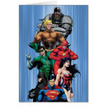 Justice League - Group 3 Greeting Card