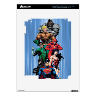 Justice League - Group 3 iPad 3 Decals