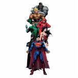 Justice League - Group 3 Standing Photo Sculpture