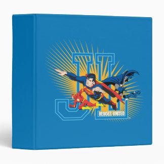 Justice League Heroes United Binder