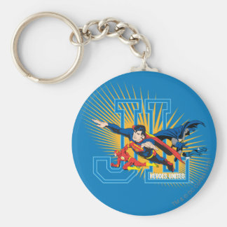 Justice League Heroes United Keychain