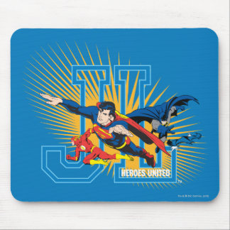 Justice League Heroes United Mouse Pad