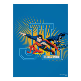 Justice League Heroes United Print
