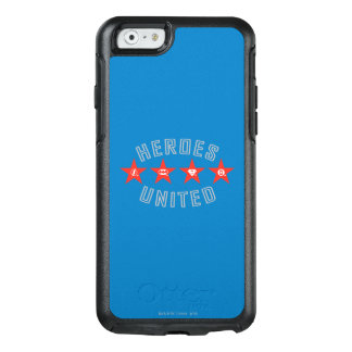 Justice League Heroes Untied Logos OtterBox iPhone 6/6s Case