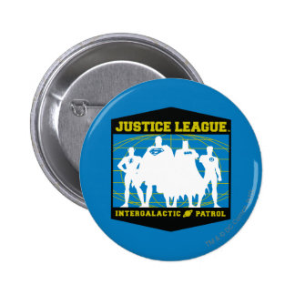 Justice League Intergalactic Patrol Button