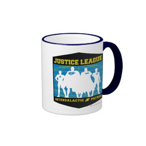 Justice League Intergalactic Patrol Coffee Mug