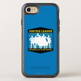 Justice League Intergalactic Patrol OtterBox Symmetry iPhone 8/7 Case