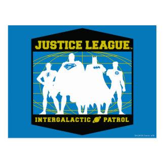 Justice League Intergalactic Patrol Post Card