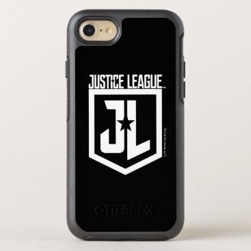 Justice League   JL Shield OtterBox Symmetry iPhone 8/7 Case