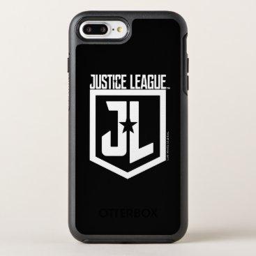 Justice League   JL Shield OtterBox Symmetry iPhone 8 Plus/7 Plus Case