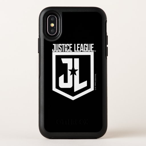 Justice League | JL Shield OtterBox Symmetry iPhone X Case