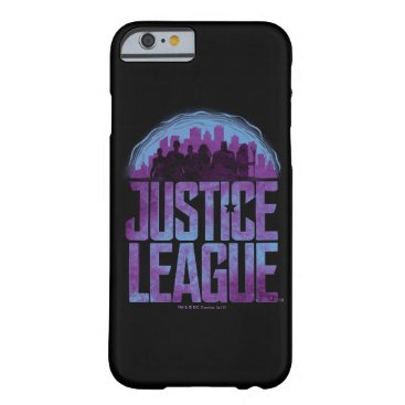 Justice League   Justice League City Silhouette Barely There iPhone 6 Case