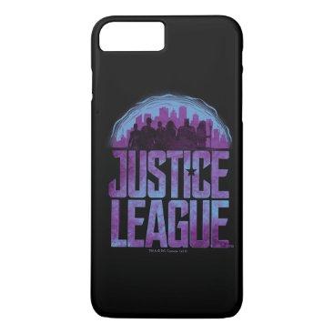 Justice League   Justice League City Silhouette iPhone 8 Plus/7 Plus Case