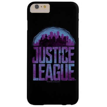 Justice League   Justice League City Silhouette Barely There iPhone 6 Plus Case