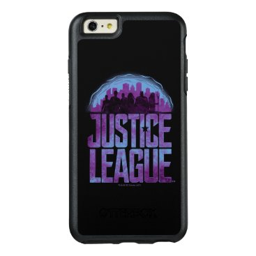 Justice League   Justice League City Silhouette OtterBox iPhone 6/6s Plus Case