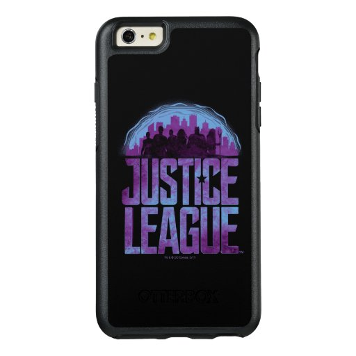 Justice League | Justice League City Silhouette OtterBox iPhone 6/6s Plus Case