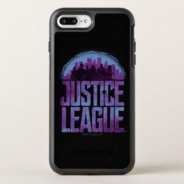 Justice League   Justice League City Silhouette OtterBox Symmetry iPhone 8 Plus/7 Plus Case