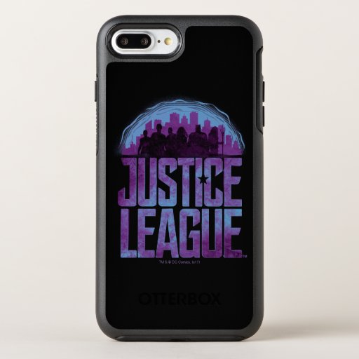Justice League | Justice League City Silhouette OtterBox Symmetry iPhone 8 Plus/7 Plus Case