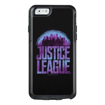 Justice League   Justice League City Silhouette OtterBox iPhone 6/6s Case