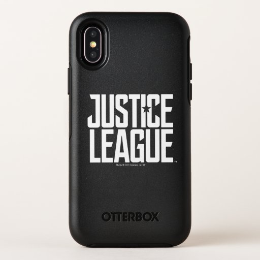 Justice League | Justice League Logo OtterBox Symmetry iPhone X Case