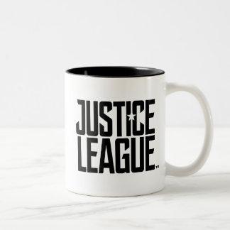 Justice League | Justice League Logo Two-Tone Coffee Mug