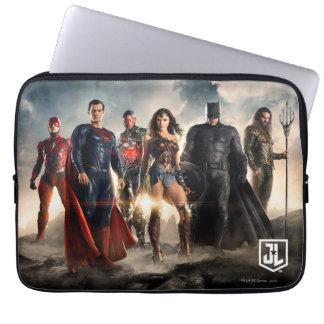 Justice League | Justice League On Battlefield Laptop Sleeve