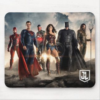 Justice League | Justice League On Battlefield Mouse Pad