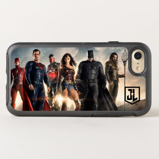 Justice League | Justice League On Battlefield OtterBox Symmetry iPhone SE/8/7 Case