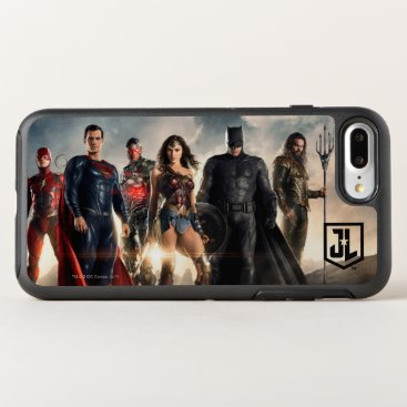 Justice League | Justice League On Battlefield OtterBox Symmetry iPhone 8 Plus/7 Plus Case