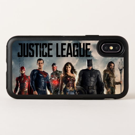 Justice League | Justice League On Battlefield OtterBox Symmetry iPhone X Case