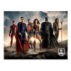 Justice League | Justice League On Battlefield Postcard