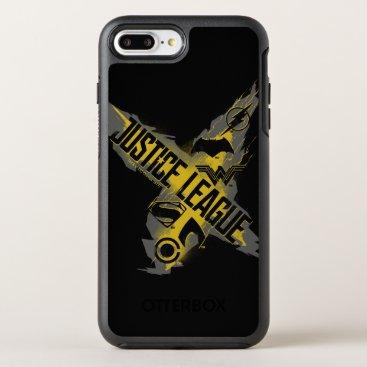 Justice League | Justice League & Team Symbols OtterBox Symmetry iPhone 8 Plus/7 Plus Case