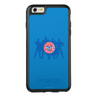 Justice League Logo and Solid Character Background OtterBox iPhone 6/6s Plus Case