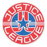 Justice League Logo Classic Round Sticker