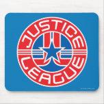 Justice League Logo Mouse Pad