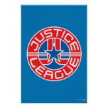 Justice League Logo Poster