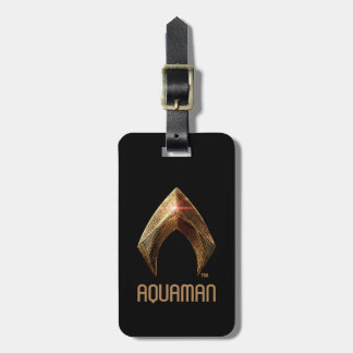 Justice League | Metallic Aquaman Symbol Bag Tag