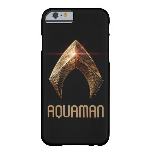 Justice League | Metallic Aquaman Symbol Barely There iPhone 6 Case