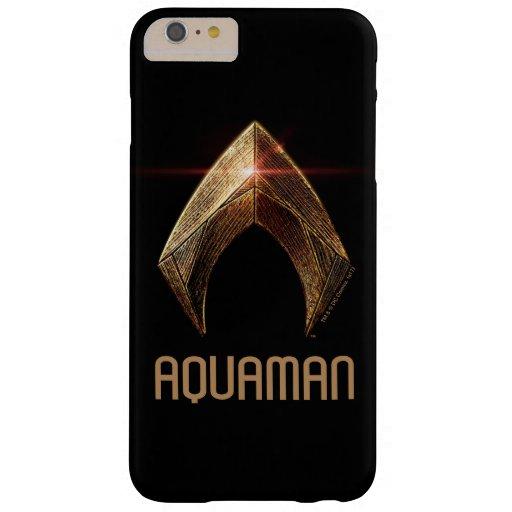 Justice League | Metallic Aquaman Symbol Barely There iPhone 6 Plus Case